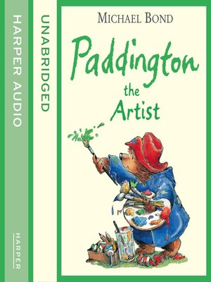 cover image of Paddington the Artist