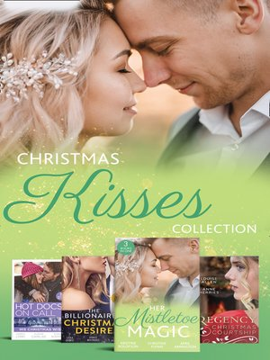 cover image of Christmas Kisses Collection