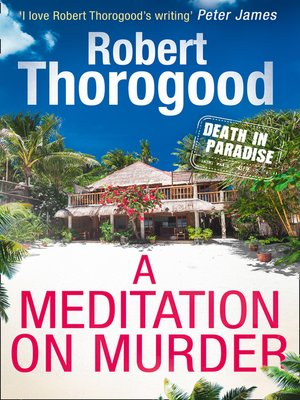 cover image of A Meditation On Murder