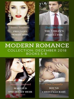 cover image of Modern Romance December Books 5-8