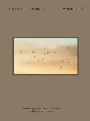 cover image of Adventures Among Birds (Collins Nature Library)