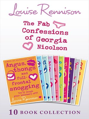 cover image of The Complete Fab Confessions of Georgia Nicolson