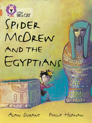 cover image of Spider McDrew and the Egyptians