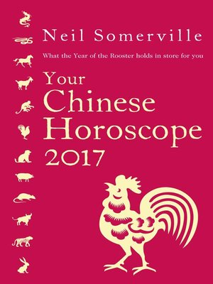 cover image of Your Chinese Horoscope 2017