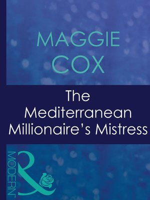 cover image of The Mediterranean Millionaire's Mistress