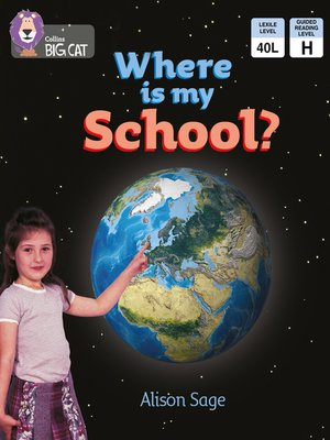 cover image of Collins Big Cat – Where is My School?