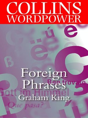cover image of Foreign Phrases (Collins Word Power)