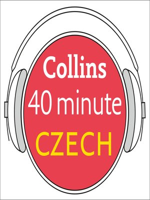 cover image of Czech in 40 Minutes
