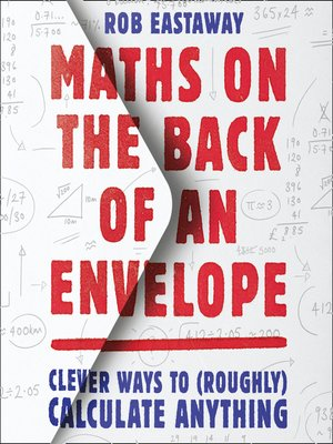 cover image of Maths on the Back of an Envelope