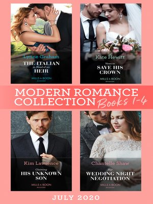 cover image of Modern Romance July 2020 Books 1-4
