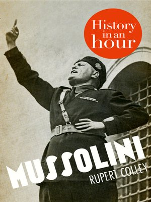 cover image of Mussolini