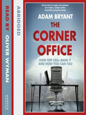 cover image of The Corner Office