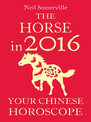 cover image of The Horse in 2016