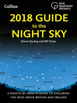 cover image of 2018 Guide to the Night Sky