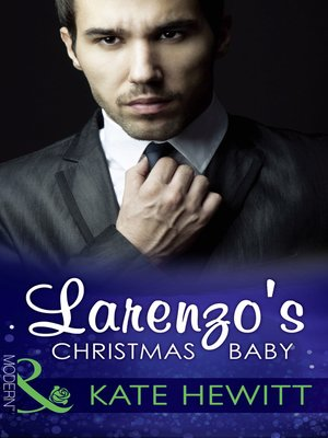 cover image of Larenzo's Christmas Baby
