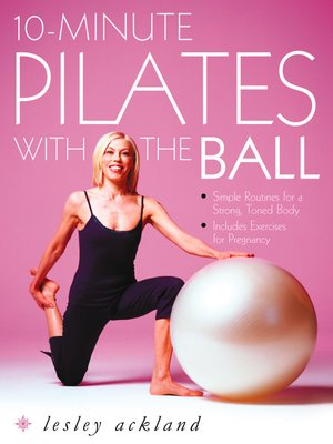 cover image of 10-Minute Pilates with the Ball