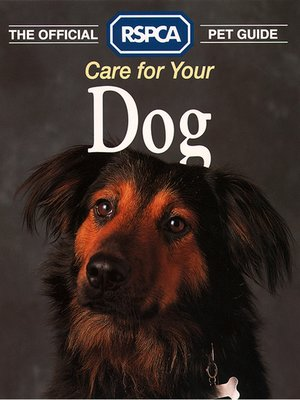 cover image of Care for your Dog