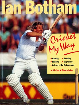 cover image of Cricket My Way