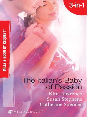 cover image of The Italian's Baby of Passion