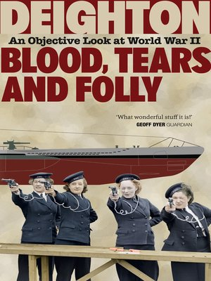 cover image of Blood, Tears and Folly