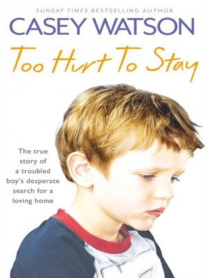 cover image of Too Hurt to Stay
