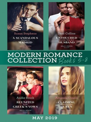 cover image of Modern Romance June 2019 Books 5-8