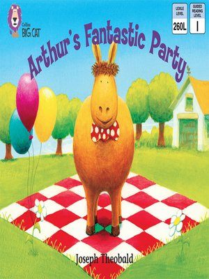 cover image of Collins Big Cat – Arthur's Fantastic Party