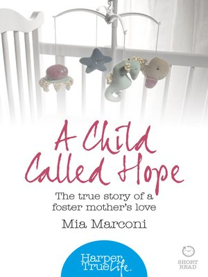cover image of A Child Called Hope