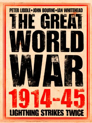 cover image of The Great World War 1914–1945