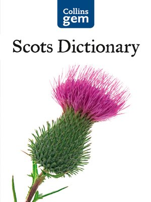 cover image of Collins Gem Scots Dictionary