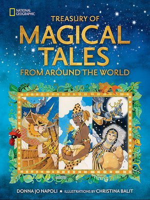 cover image of Treasury of Magical Tales from Around the World