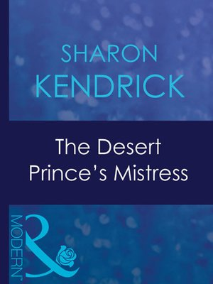 cover image of The Desert Prince's Mistress
