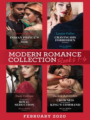 cover image of Modern Romance February 2020 Books 1-4