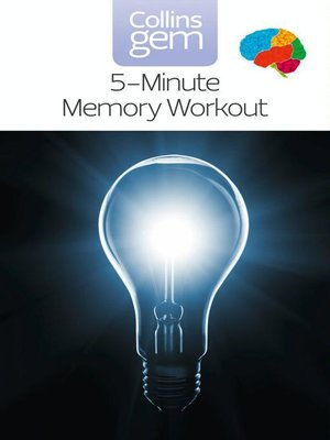 cover image of 5-Minute Memory Workout