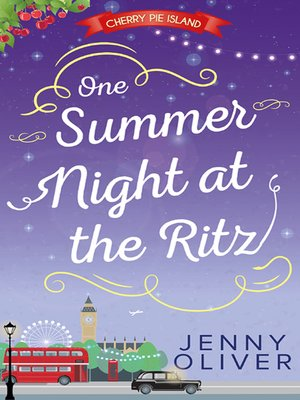 cover image of One Summer Night At the Ritz