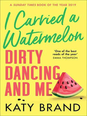 cover image of I Carried a Watermelon