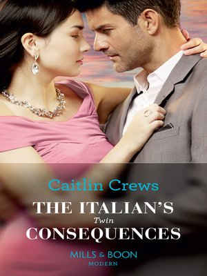 cover image of The Italian's Twin Consequences