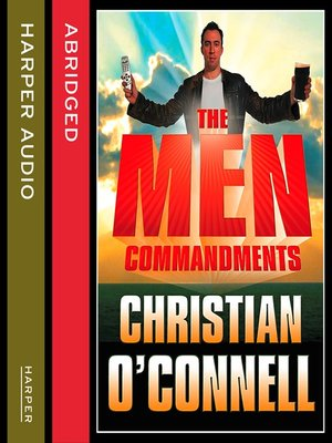 cover image of The Men Commandments