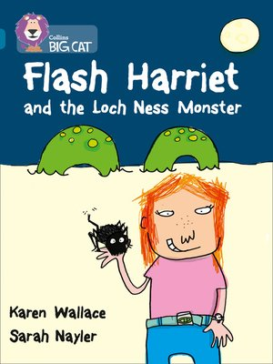 cover image of Flash Harriet and the Loch Ness Monster