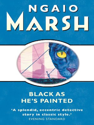 cover image of Black As He's Painted