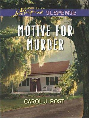 cover image of Motive for Murder