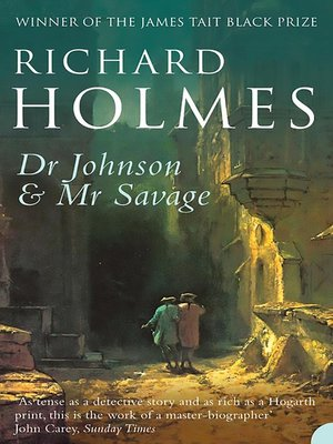 cover image of Dr Johnson and Mr Savage