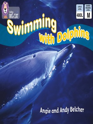 cover image of Collins Big Cat – Swimming with Dolphins