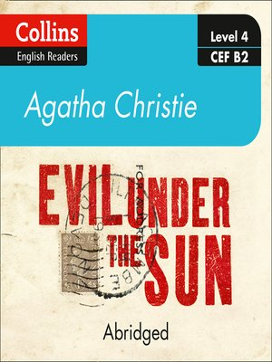 cover image of Evil Under the Sun, Level 4