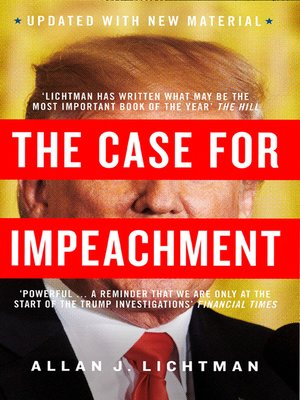 cover image of The Case for Impeachment