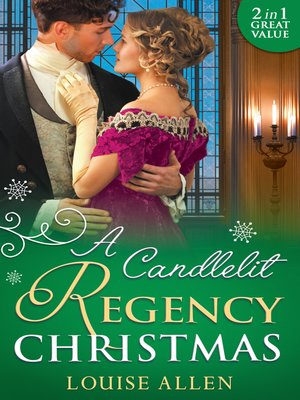 cover image of A Candlelit Regency Christmas: His Housekeeper's Christmas Wish