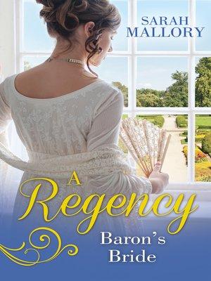 cover image of A Regency Baron's Bride