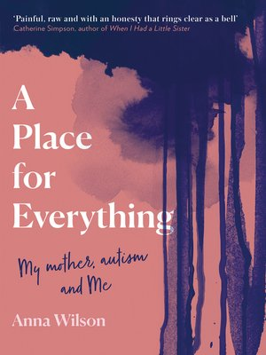 cover image of A Place for Everything