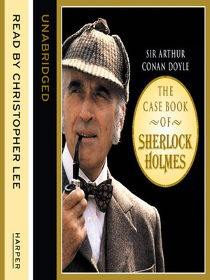 cover image of The Case Book of Sherlock Holmes