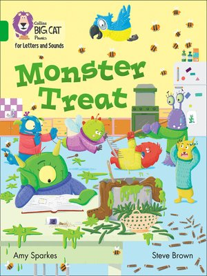 cover image of Collins Big Cat Phonics for Letters and Sounds – Monster Treat
